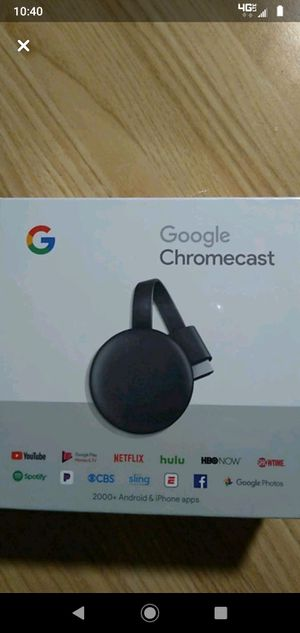 Brand New Chromecast!!!! for Sale in Longmont, CO
