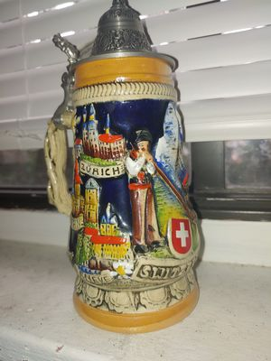 Authentic German Beer Stein for Sale in Tampa, FL