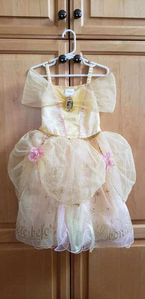 disney princess beauty and the beast Belle costume 3T for Sale in Torrance, CA