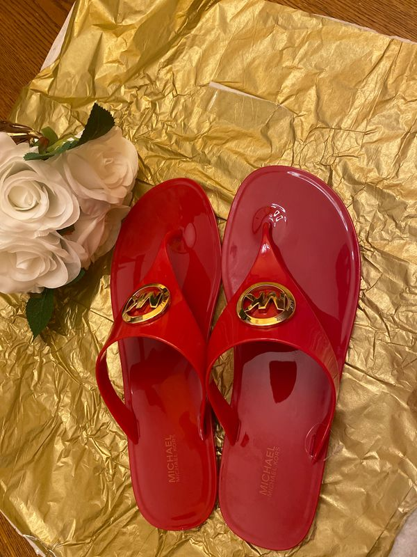 Authentic Michael Kors Jelly Sandals Size10M