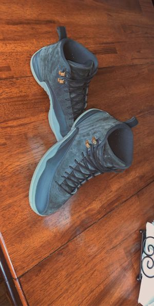 Retro Jordan dark grey 12's for Sale in Cambridge, MD