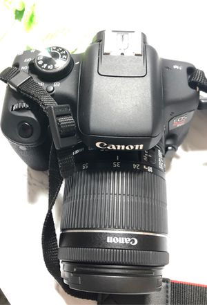 Canon T6i EOS 750 D Camera for Sale in Houston, TX
