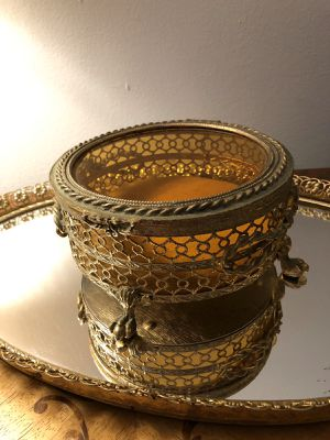 Antique box brass for Sale in Wilmette, IL