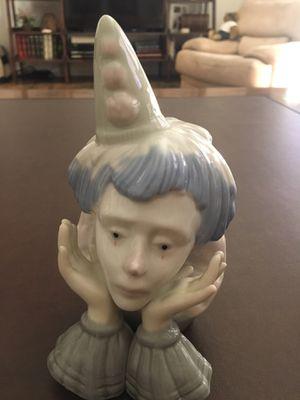 Clown head figurine. Lladro replica. for Sale in Redlands, CA
