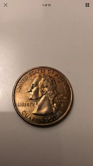 Used, Arkansas 2003 copper quarter missed zinc coat error by mint for Sale for sale  Flanders, NJ