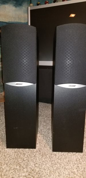 Bose 601 tower speakers for Sale in MENTOR ON THE, OH
