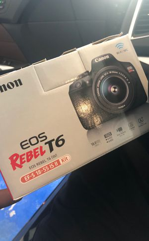 Canon Rebel T6 for Sale in Aspen Hill, MD
