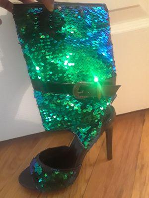 Mermaid sequin heel for Sale in Pittsburgh, PA