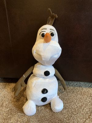 Olaf Disney Character, NWOT for Sale in Sioux Falls, SD