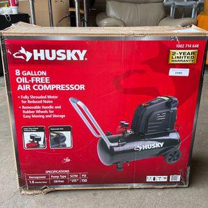 Husky 8 Gallon Oil-free Air Compressor for Sale in Phoenix, AZ
