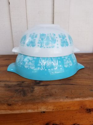 2 Pyrex Cinderella Mixing Bowls for Sale in Whittier, CA