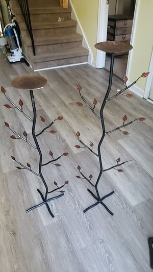 Tall Leafy Candle Holder for Sale in Nashville, TN