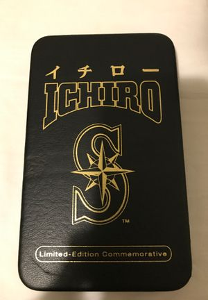 Ichiro Seattle Mariners Limited Edition Authentic Baseball card. for Sale in Seattle, WA
