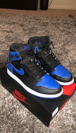 Air Jordan Retro 1 OG High Royal Blue Size 10.5 for Sale in Tracy, CA
