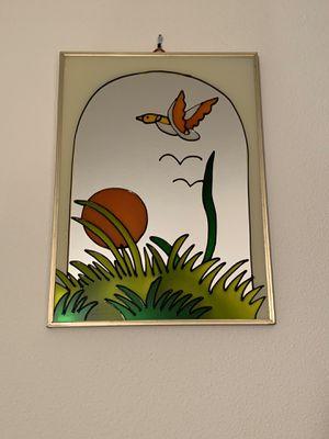 Vintage Meadows Wall Mirror in Gold Metal Frame, Medium for Sale in Bellevue, WA