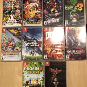 Nintendo Switch Games Lot for Sale in San Diego, CA