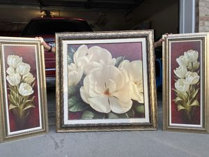 Framed picture set for Sale in Lincoln, NE