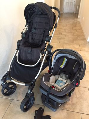 Baby Jogger City Select w/ Graco Snugride Elite infant car seat w/ adapter for Sale in Clermont, FL