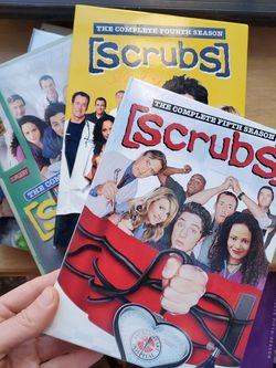 SCRUBS TV Show Seasons 1-5 Full DVD Sets! for Sale in Brooklyn,  NY