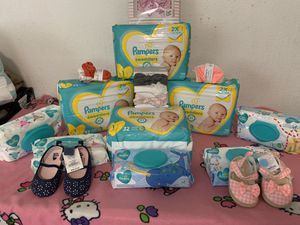 Pampers diapers size 1 for Sale in Tacoma, WA