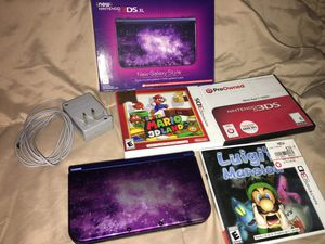 Nintendo 3DS XL (Galaxy) + Games for Sale in Sedro-Woolley, WA