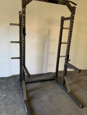 HEAVY DUTY 3x3 STEEL SQUAT RACK POWER CAGE POWER PACKAGE for Sale in San Diego, CA