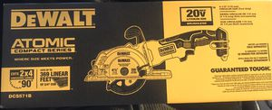 DEWALT View the Collection ATOMIC 20-Volt MAX Cordless 4-1/2 in. Circular Saw (Tool-Only for Sale in Hialeah, FL