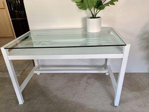 Crate and Barrel refurbished/ painted large desk for Sale in Scottsdale, AZ