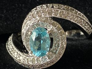 Lady's Tourmaline and Diamond ring for Sale in Portland, OR