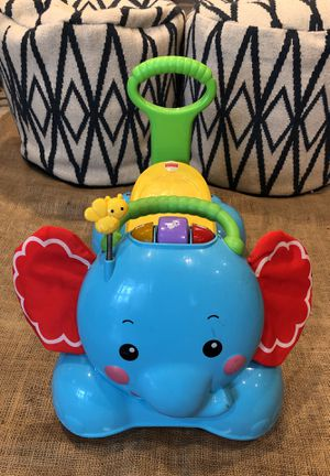 Walker/Rider Elephant Fisher Price sings, plays music, lights up for Sale in Los Angeles, CA