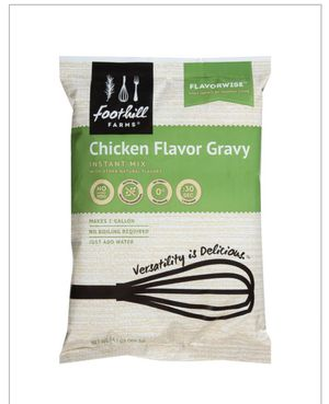 Foothills farm Chicken Flavors Gravy 8 Pieces regular prices 49.99$ special offer 29.99$ for Sale in Cedar Grove, NJ