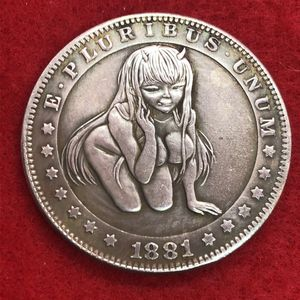 Devil Anime Girl. Last One Available. Tibetan Silver Coin. First $20 Offer Automatically Accepted. Shipped Same Day for Sale in Portland, OR