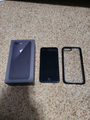 Unlocked iPhone 8 Plus with case and accessories for Sale in Edmonds, WA