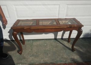 Antique glass table for Sale in Bellflower, CA
