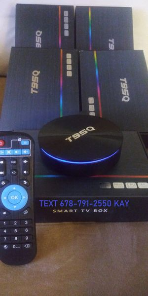 High Rated Android Live TV Box in 4K that makes the stick look slow! for Sale in Atlanta, GA