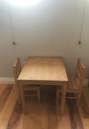 IKEA Toddler Kids Craft Table & 2 Chairs for Sale in San Diego, CA
