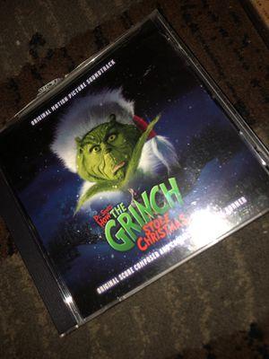 Grinch Christmas cd for Sale in Phoenix, AZ