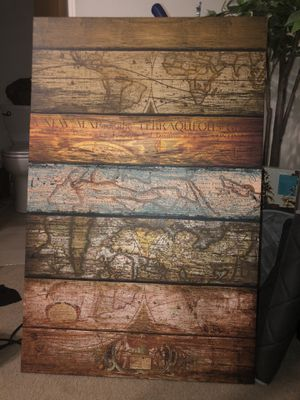 Cool Map Art for Sale in Seattle, WA