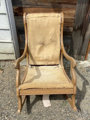 Vintage Deconstructed rocking chair a great project! for Sale in Cashmere, WA