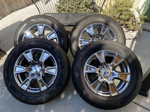 Set of 4 Ford Wheels & Tires, Like NEW for Sale in Oakdale, CA