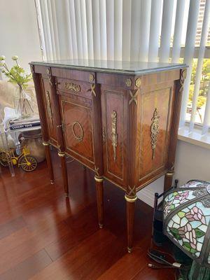 Gorgeous antique furniture chest dresser console buffet credenza for Sale in Hallandale Beach, FL