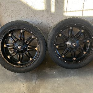 fuel hostage wheels 22x10 for Sale in Los Angeles, CA