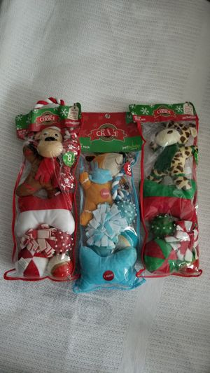 New - Never opened Dog toy Stockings for Sale in Lowell, MA