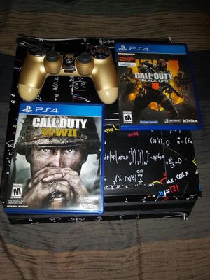 Ps4 pro with games for Sale in Arlington, TX