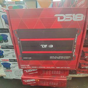 ds18 4 channel amllifier for Sale in Dallas, TX