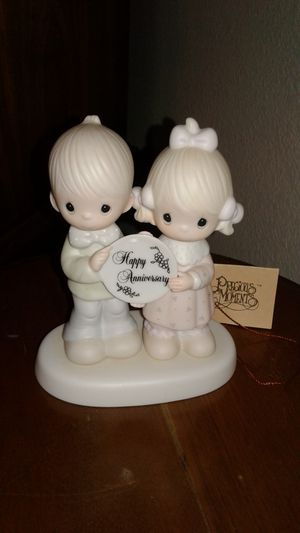 "Precious Moments ""Happy Anniversary"" Figurine for Sale in Cypress, TX"
