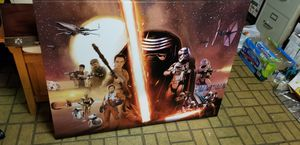 Star Wars Picture for Sale in Shelby Charter Township, MI