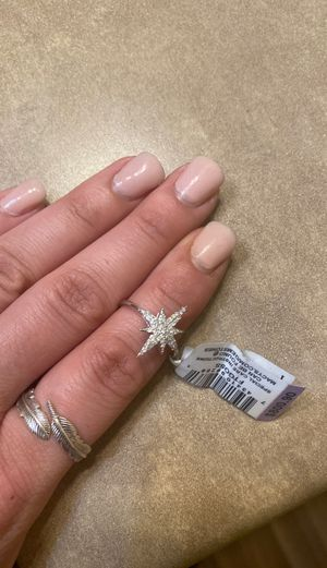 1/4 karat Macy's Ring. Size 5. Brand new. for Sale in Tacoma, WA