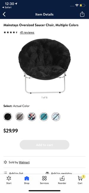 Saucer Chair Brand New for Sale in Las Vegas, NV