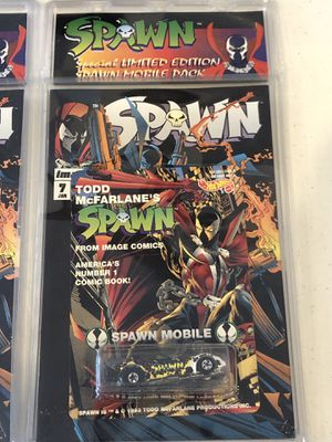 Lot of 9 SPAWN 1992 Hotwheels cars for Sale in Tampa, FL